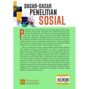 DASAR-DASAR PENELITIAN SOSIAL