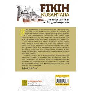 Fikih Nusantara: Dimensi Keilmuan dan Pengembangannya
