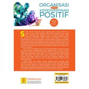 ORGANISASI DAN KEPEMIMPINAN POSITIF. Penerapan Psikologi Positif di Tempat Kerja