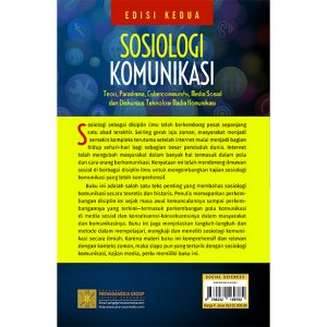 Sosiologi Komunikasi Edisi Kedua